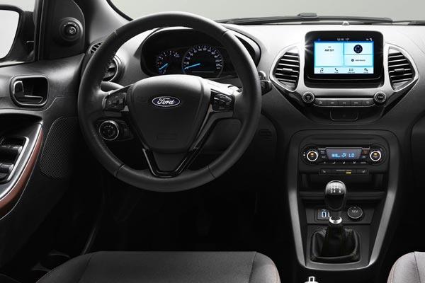 Интерьер салона Ford Ka Plus Active