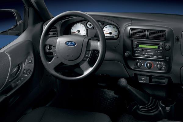 Интерьер салона Ford Ranger