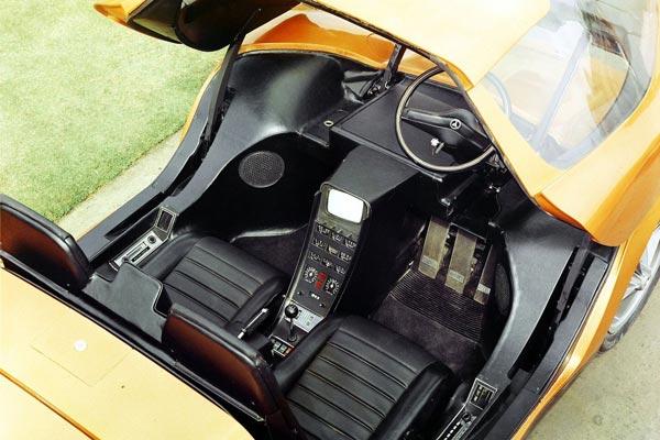 Интерьер салона Holden Hurricane Concept
