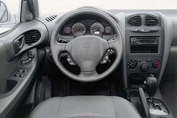 Интерьер салона Hyundai Santa Fe
