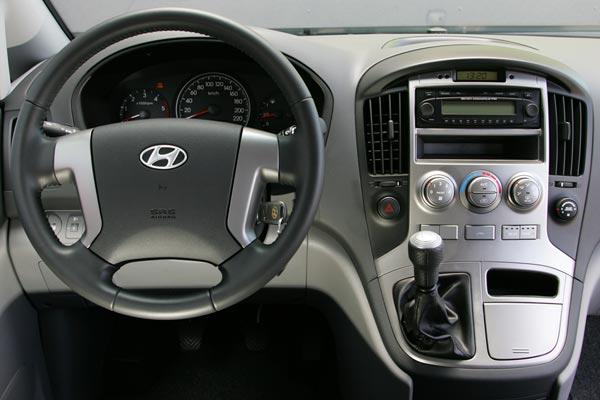 Интерьер салона Hyundai H-1