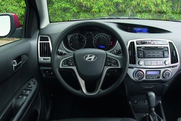 Интерьер салона Hyundai i20