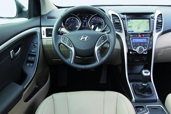 Интерьер салона Hyundai i30 CW