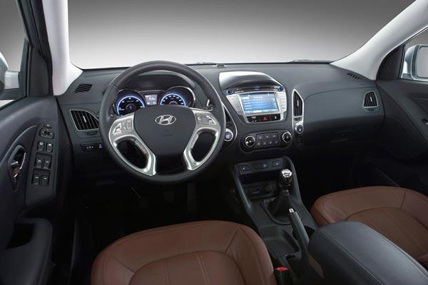 Интерьер салона Hyundai ix35