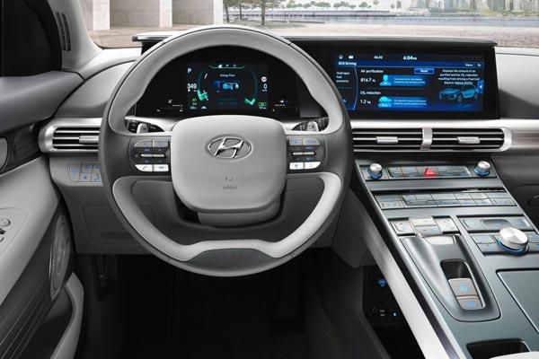 Интерьер салона Hyundai Nexo