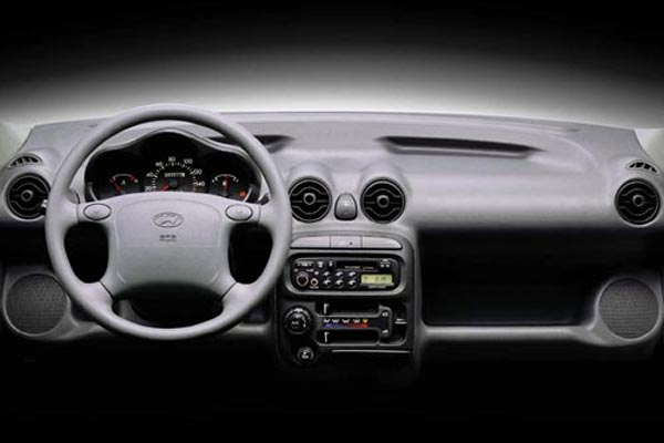 Интерьер салона Hyundai Atos