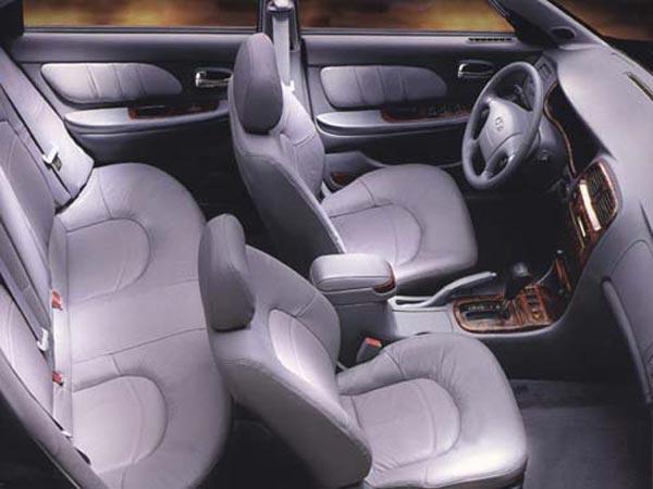 Интерьер салона Hyundai Sonata