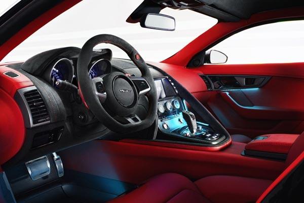 Интерьер салона Jaguar C-X16 Concept