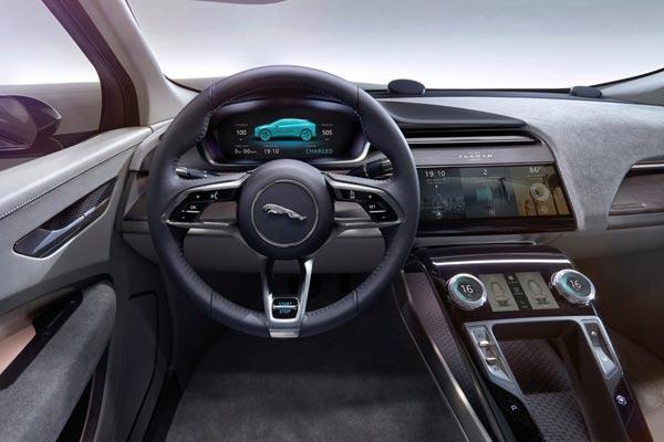 Интерьер салона Jaguar I-Pace Concept