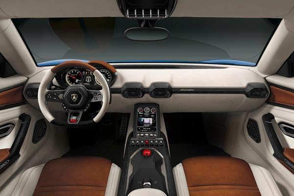 Интерьер салона Lamborghini Asterion