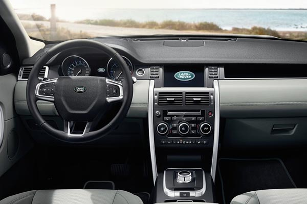 Интерьер салона Land Rover Discovery Sport