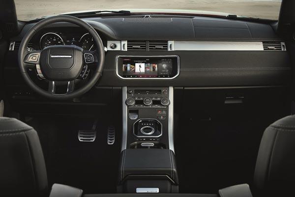 Интерьер салона Range Rover Evoque Convertible
