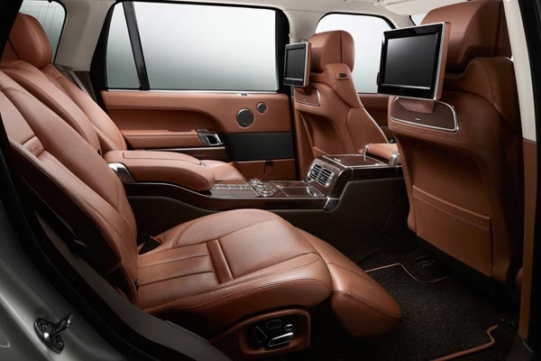 Интерьер салона Land Rover Range Rover LWB