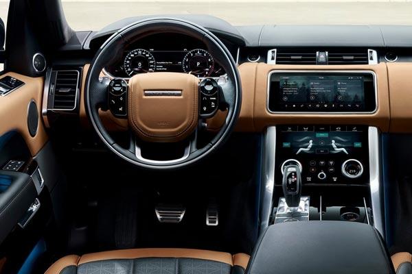 Интерьер салона Land Rover Range Rover Sport