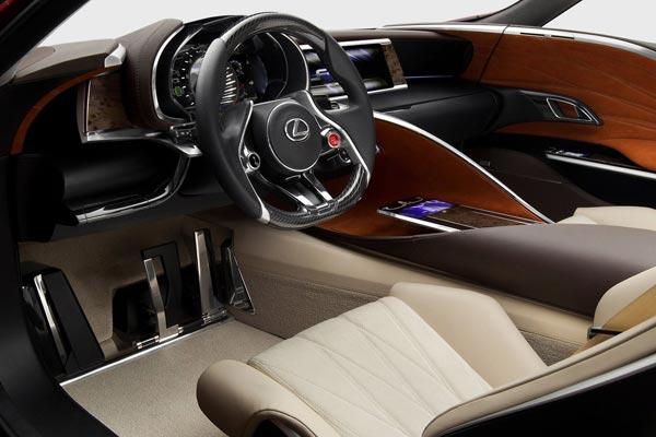 Интерьер салона Lexus LF-LC Concept