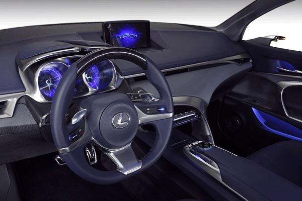 Интерьер салона Lexus LF-Ch Concept