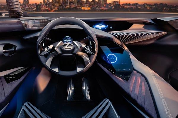 Интерьер салона Lexus UX Concept