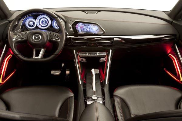 Интерьер салона Mazda Minagi Concept