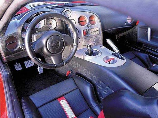 Интерьер салона Mazda RX-8