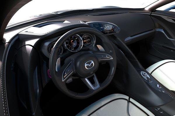 Интерьер салона Mazda Shinari Concept