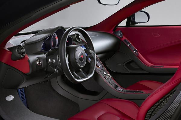 Интерьер салона McLaren X-1 Concept