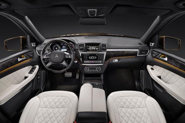 Интерьер салона Mercedes GL