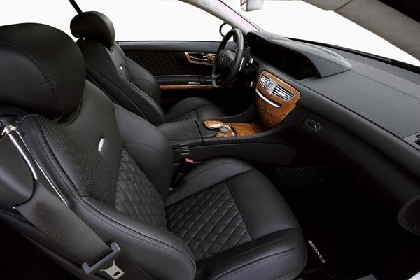 Интерьер салона Mercedes CL 63 AMG