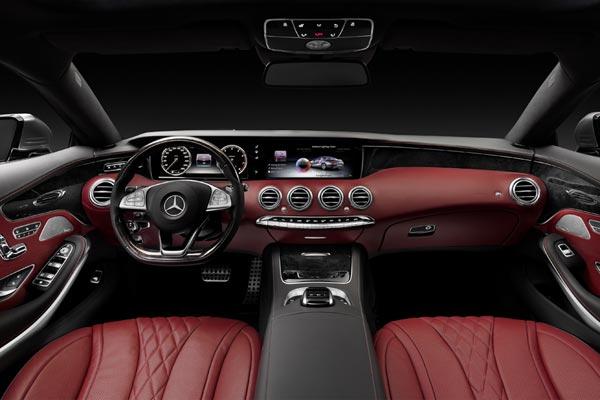 Интерьер салона Mercedes S-Class Coupe
