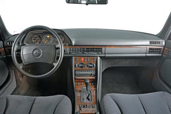 Интерьер салона Mercedes S-Class