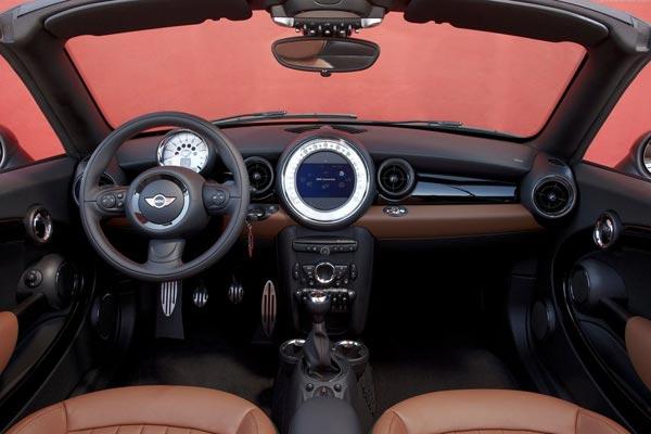 Интерьер салона Mini Roadster