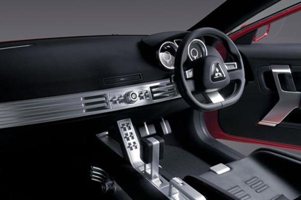 Интерьер салона Mitsubishi Concept-X