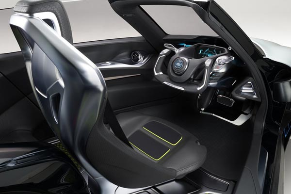 Интерьер салона Nissan BladeGlider Concept