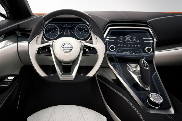Интерьер салона Nissan Sport Sedan Concept