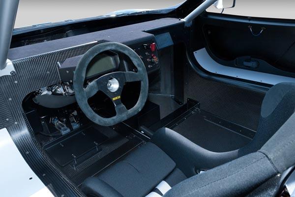 Интерьер салона Nissan Leaf Nismo RC Concept