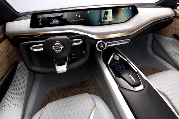Интерьер салона Nissan Vmotion 2.0 Concept