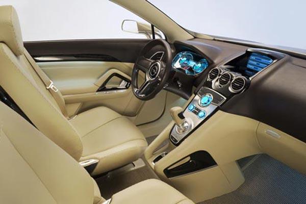Интерьер салона Opel Antara GTC