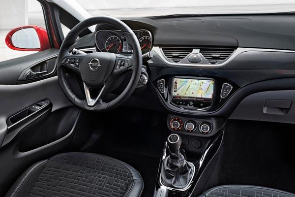 Интерьер салона Opel Corsa 3-Door