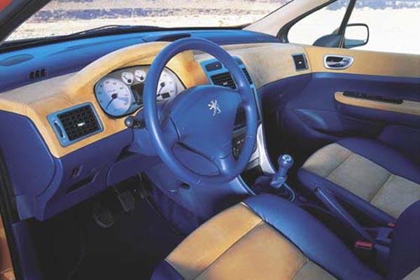 Интерьер салона Peugeot 307 Cameleo