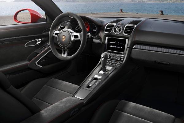 Интерьер салона Porsche Boxster GTS