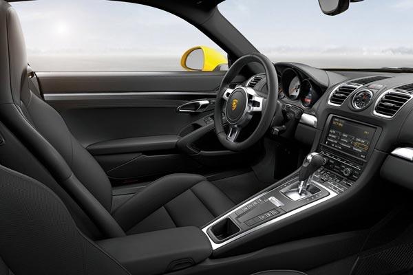 Интерьер салона Porsche Cayman