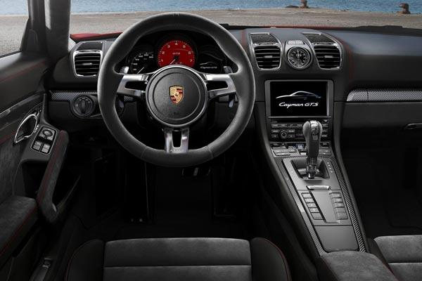 Интерьер салона Porsche Cayman GTS