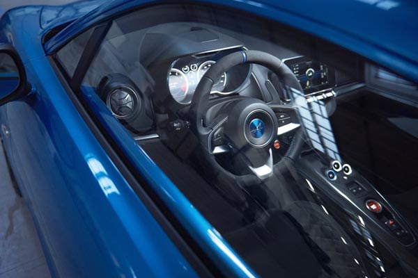 Интерьер салона Renault Alpine A 110