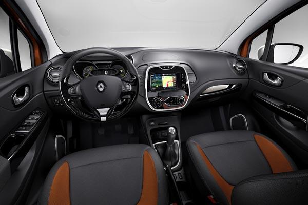 Интерьер салона Renault Captur