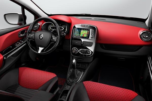 Интерьер салона Renault Clio Grand Tour