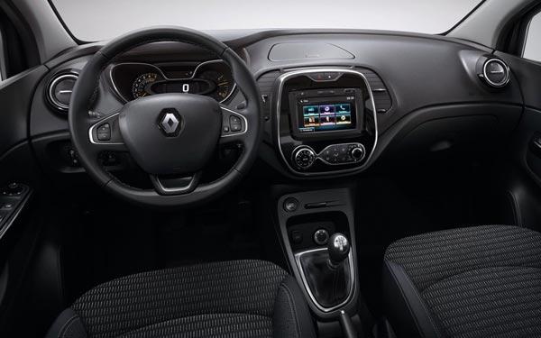 Интерьер салона Renault Kaptur