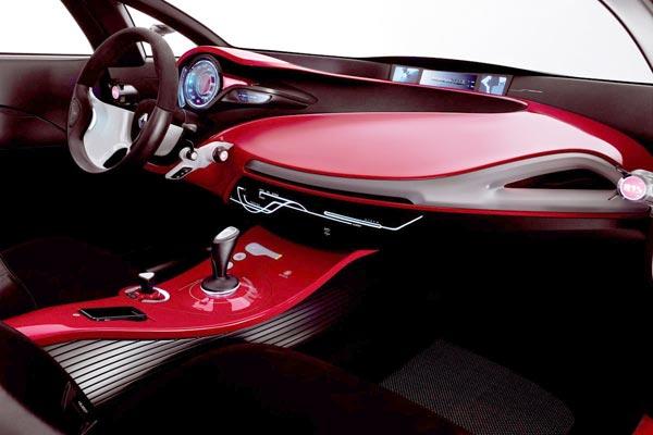 Интерьер салона Renault Megane Coupe Concept