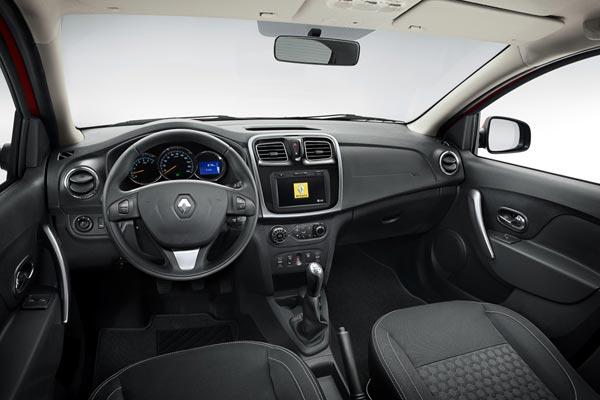 Интерьер салона Renault Sandero