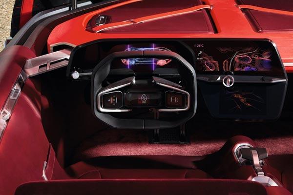 Интерьер салона Renault Trezor Concept