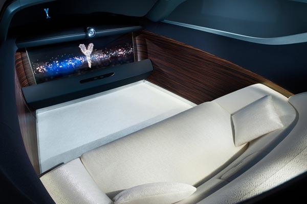 Интерьер салона Rolls-Royce 103EX Vision Next 100 Concept