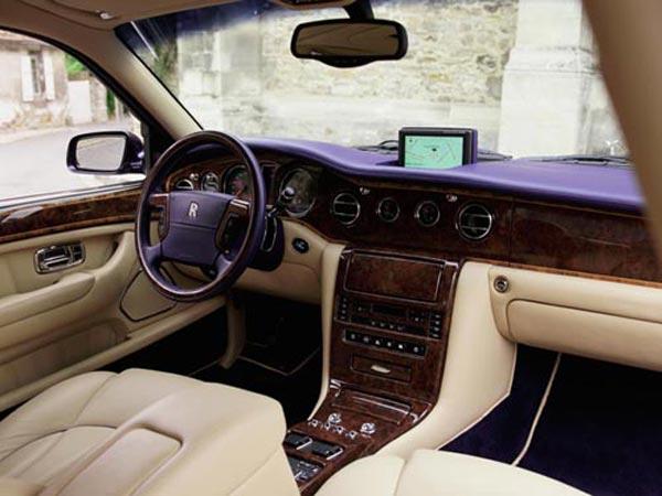 Интерьер салона Rolls-Royce Silver Seraph